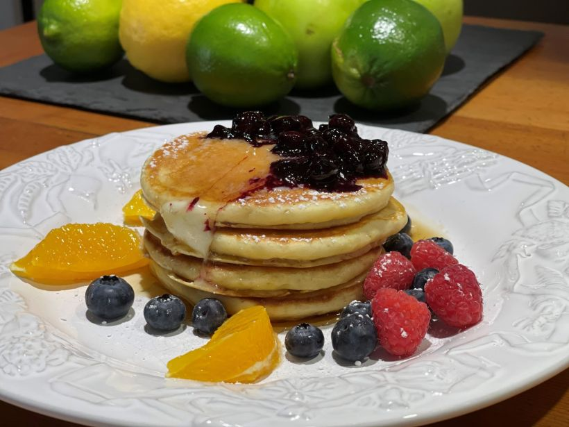 Lemon Soufflé Pancakes